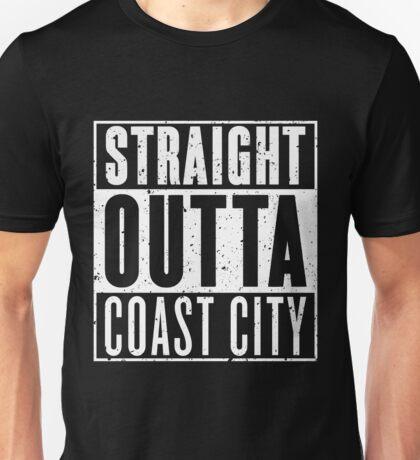 Straight Outta Coast City Unisex T-Shirt