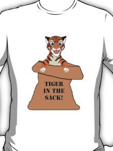 Orange 'Tiger in the Sack!' T-Shirt