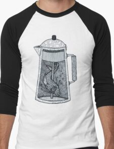 There was a fish in the percolator Men's Baseball ¾ T-Shirt
