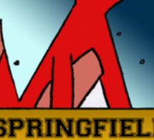 The Springfield Space Coyotes Sticker