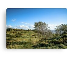 The wonderful view down the river mersey! Canvas Print