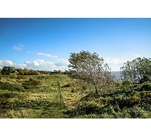 The wonderful view down the river mersey! Photographic Print