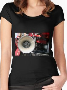 Old Fire Truck Women's Fitted Scoop T-Shirt