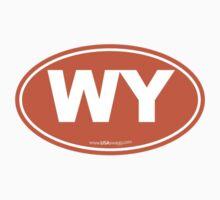 Wyoming WI Euro Oval ORANGE by USAswagg2