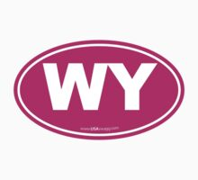Wyoming WI Euro Oval PINK by USAswagg2