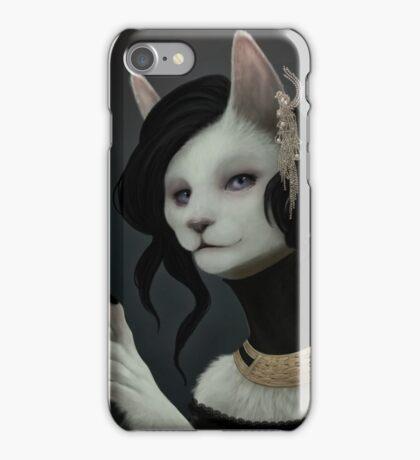 Elegant Cat iPhone Case/Skin