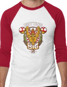 Getting Big Men's Baseball ¾ T-Shirt