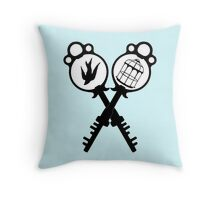 The Bird or the Cage? Throw Pillow
