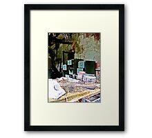 Green Cabinet Framed Print