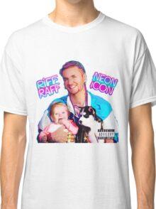 Riff Raff Neon Icon Black Classic T-Shirt