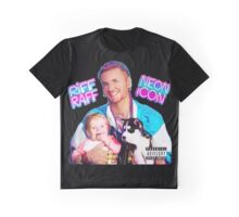 Riff Raff Neon Icon Black Graphic T-Shirt