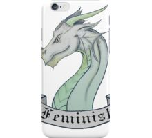 FEMINIST - Light Dragon iPhone Case/Skin