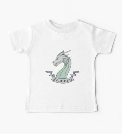 FEMINIST - Light Dragon Baby Tee