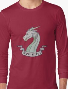 FEMINIST - Light Dragon Long Sleeve T-Shirt