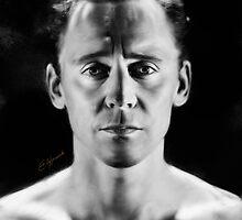 Tom Hiddleston by andirobinson