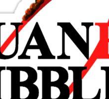 The Duane Dibley Shirt Sticker