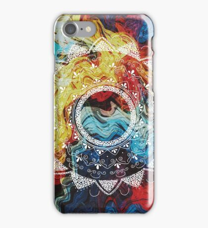 Before I choose white mandala iPhone Case/Skin