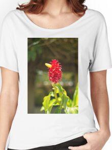 Bird Flower - Nature Photography Women's Relaxed Fit T-Shirt