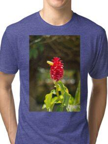 Bird Flower - Nature Photography Tri-blend T-Shirt