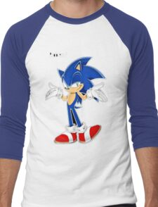 Sonic The Hedgehog Men's Baseball ¾ T-Shirt
