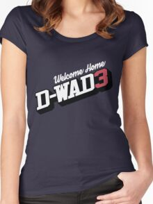 Welcome Home D-Wade Women's Fitted Scoop T-Shirt