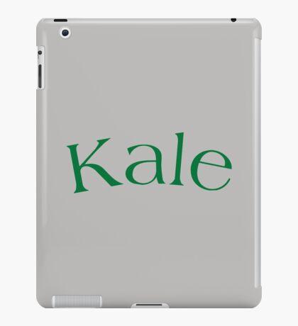 Kale University (Yale Parody) iPad Case/Skin