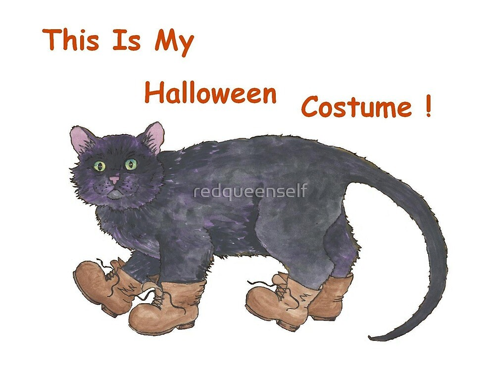 This Is My Halloween Costume! by redqueenself