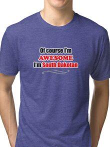 South Dakota Is Awesome Tri-blend T-Shirt