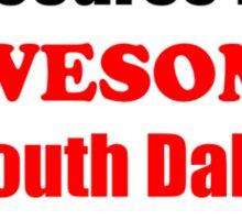 South Dakota Is Awesome Sticker