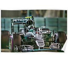 Nico Rosberg Formula 1World Champion 2016 Poster