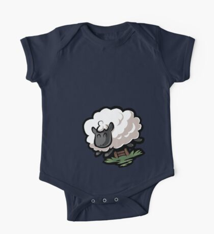 Counting Sheep One Piece - Short Sleeve