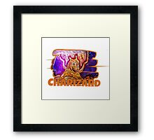 Epic Charizard Streetart Tshirts + More ' Pokemon ' Framed Print