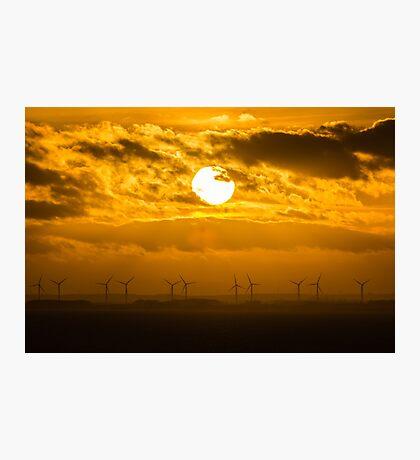 Bridlington Wind Farm Photographic Print