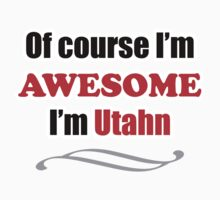 Utah Is Awesome One Piece - Short Sleeve