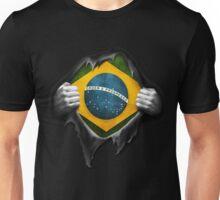 Brazil Flag. Proud Brazilian Unisex T-Shirt