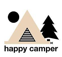 Happy Camper Photographic Print