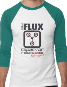 The Flux Capacitor - Makes $#it Happen Men's Baseball ¾ T-Shirt