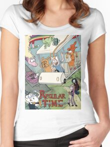 Regular Time Women's Fitted Scoop T-Shirt