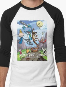 Adventure Show Men's Baseball ¾ T-Shirt