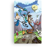 Adventure Show Canvas Print