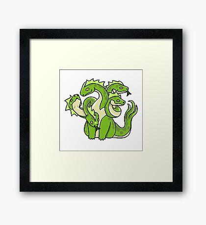 DnD Hydra Framed Print