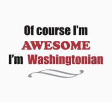 Washington Is Awesome One Piece - Long Sleeve