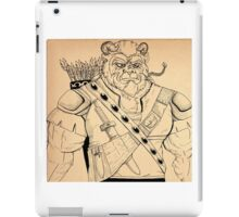 Baragh,The Hoargg Warrior iPad Case/Skin
