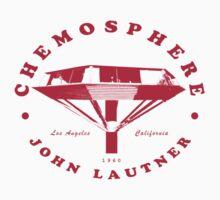 Chemosphere John Lautner Vintage Architecture T shirt by pohcsneb