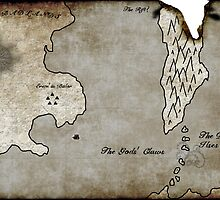 Map - Sacrificed: Heart Beyond the Spires by Bey Deckard