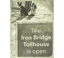 IRONBRIDGE ENGLAND 4 Photographic Print