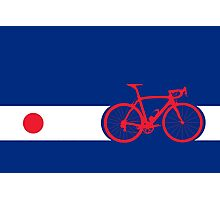 Bike Stripes Japan Photographic Print