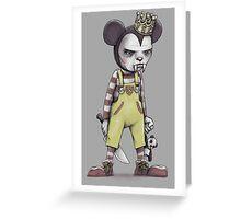 Child Vampire Greeting Card