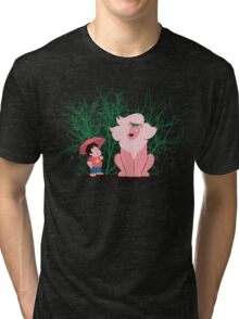 My Neighbor Lion Tri-blend T-Shirt