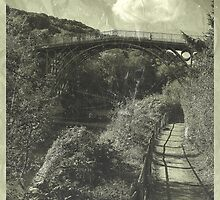 IRONBRIDGE ENGLAND 8 by TONYARTIST